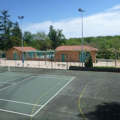 Terrain du Tennis
