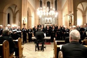 Chorale - église