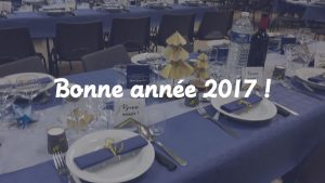 table réveillon 2017