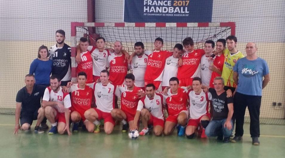 Image de l'équipe de handball de Madiran