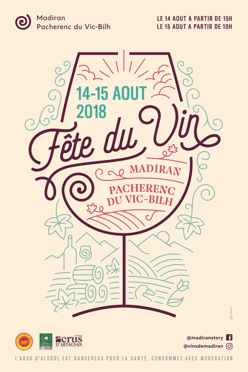 Affiche-fêteduvin-madiran2018