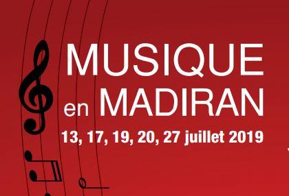 Festival Musique en Madiran 2019