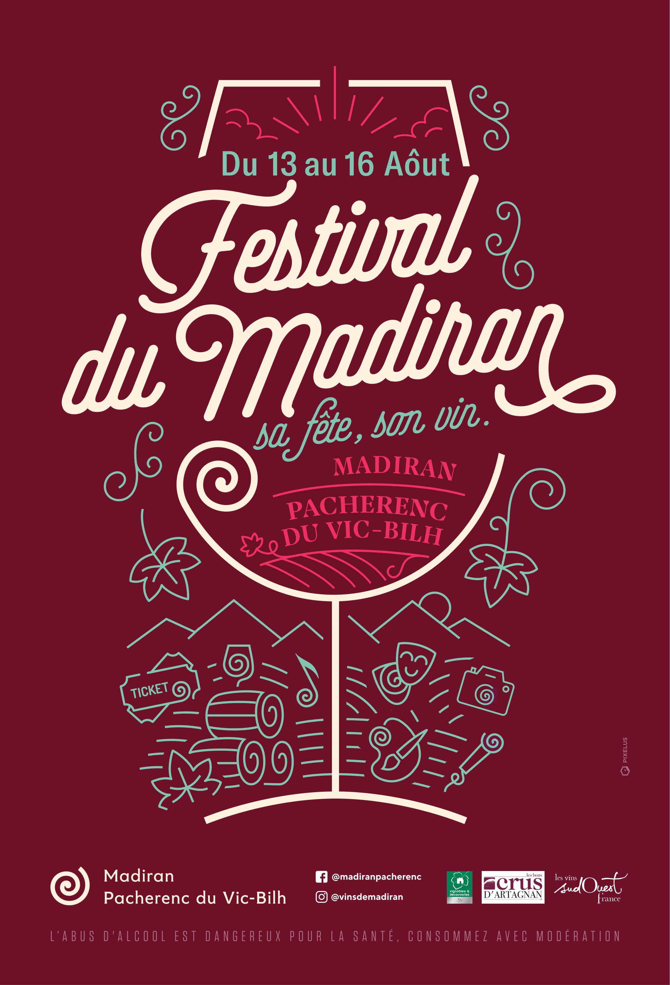 FESTIVAL DU MADIRAN Affiche