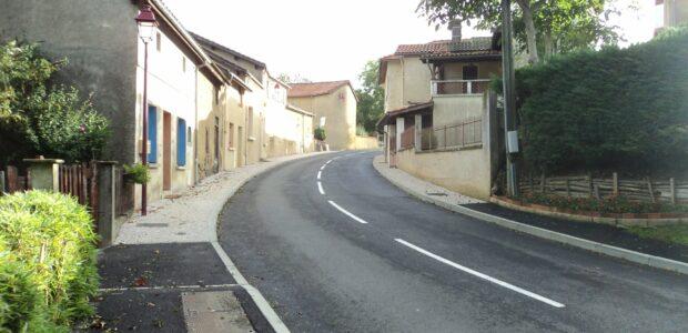 Madiran Travaux entrée ouest